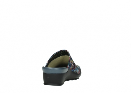wolky slippers 02575 go 40970 multi zwart metallic leer_8