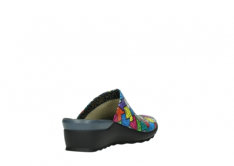 wolky slippers 02575 go 40992 picasso multi suede_9