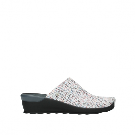wolky slippers 02575 go 41910 white multi suede