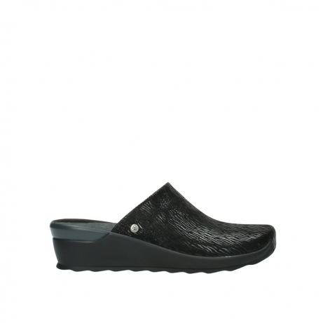 wolky slippers 02575 go 70000 zwart canals