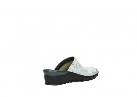 wolky slippers 02575 go 70110 wit zwart canal leer_10
