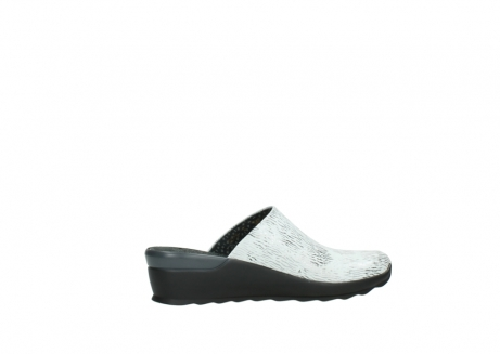 wolky slippers 02575 go 70110 wit zwart canal leer_12