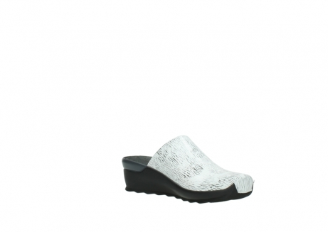 wolky slippers 02575 go 70110 wit zwart canal leer_16