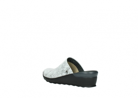 wolky slippers 02575 go 70110 wit zwart canal leer_4