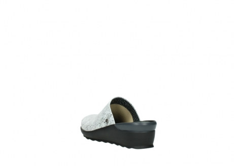 wolky slippers 02575 go 70110 wit zwart canal leer_5