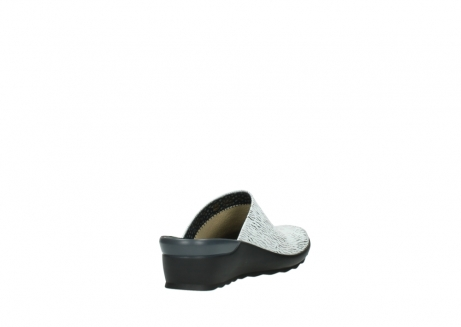 wolky slippers 02575 go 70110 wit zwart canal leer_9