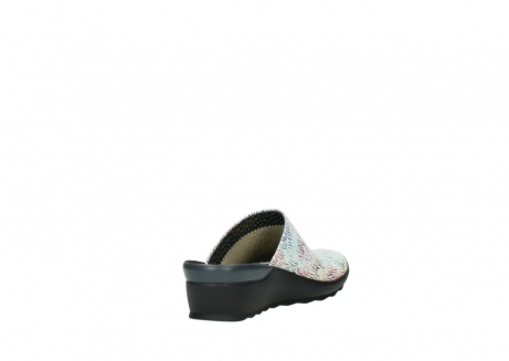 wolky slippers 02575 go 70980 wit multi color canal leer_9