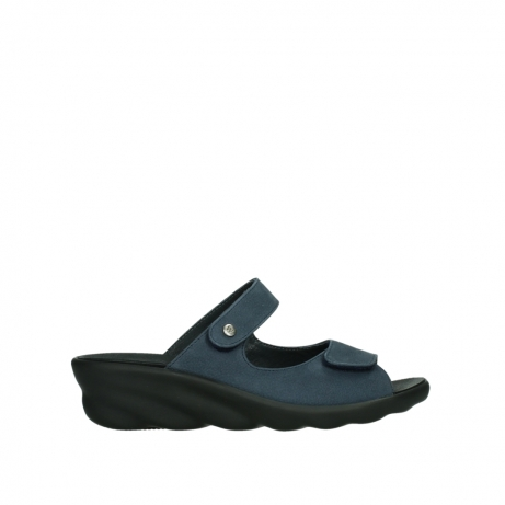 wolky slippers 03127 bolena 11820 denimblue nubuck