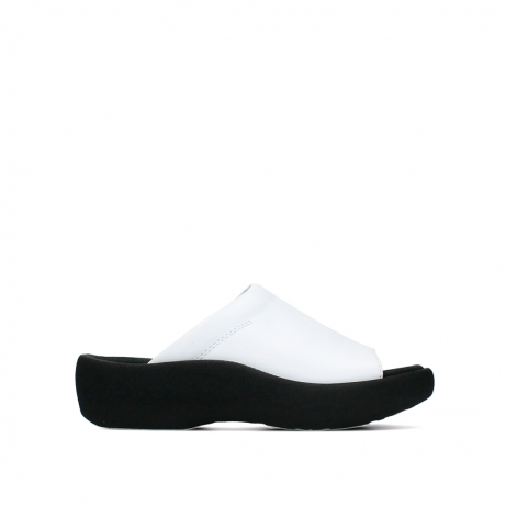 wolky slippers 03201 nassau 30100 wit leer