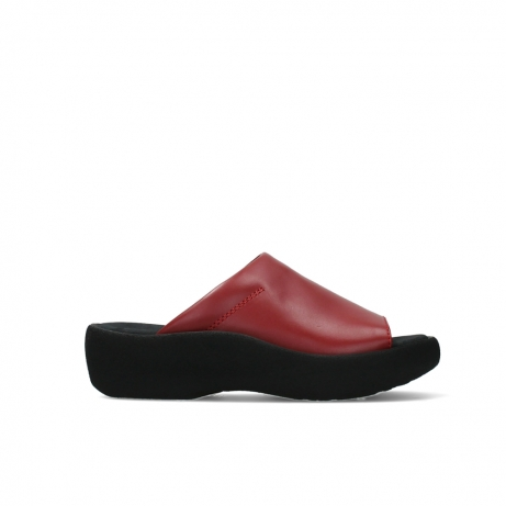 wolky slippers 03201 nassau 30500 rood leer