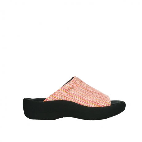 wolky slippers 03201 nassau 94555 red orange leather
