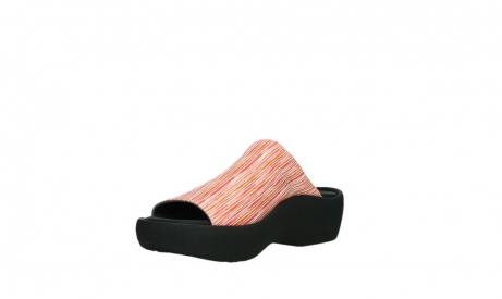 wolky slippers 03201 nassau 94555 red orange leather_10