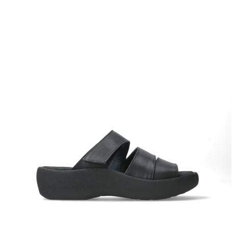 wolky slippers 03207 aporia 30000 black leather