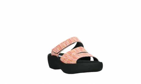 wolky slippers 03207 aporia 94555 red orange leather_5