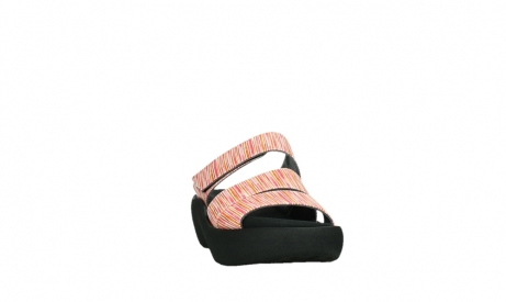 wolky slippers 03207 aporia 94555 red orange leather_6