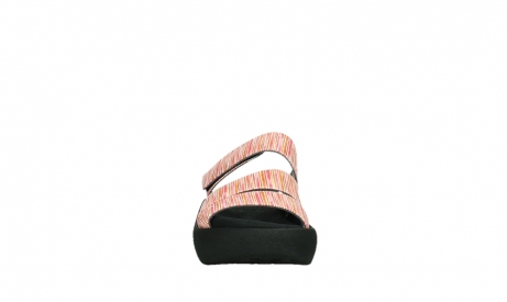 wolky slippers 03207 aporia 94555 red orange leather_7