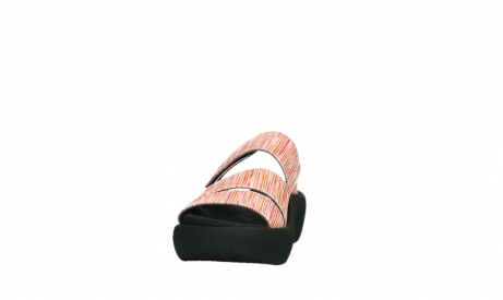 wolky slippers 03207 aporia 94555 red orange leather_8