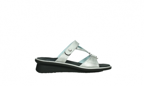 wolky slippers 03307 isa 85130 silver leather_1