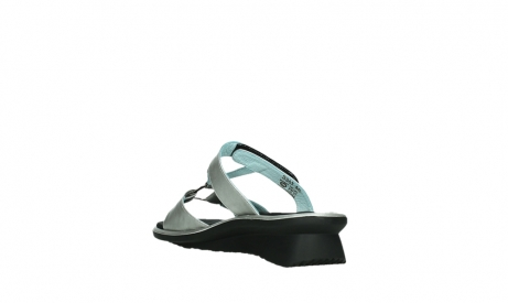 wolky slippers 03307 isa 85130 silver leather_17