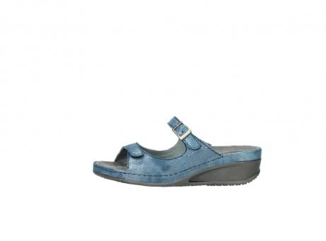 wolky slippers 0426 mundaka 681 oceaan kaviaarprint leer_1