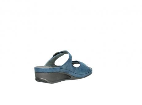 wolky slippers 0426 mundaka 681 oceaan kaviaarprint leer_10
