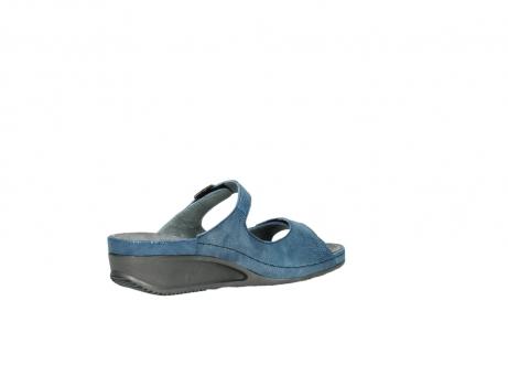 wolky slippers 0426 mundaka 681 oceaan kaviaarprint leer_11