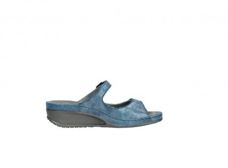 wolky slippers 0426 mundaka 681 oceaan kaviaarprint leer_13