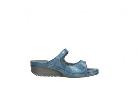 wolky slippers 0426 mundaka 681 oceaan kaviaarprint leer_14