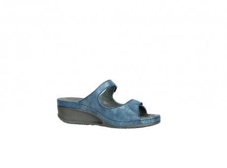 wolky slippers 0426 mundaka 681 oceaan kaviaarprint leer_15