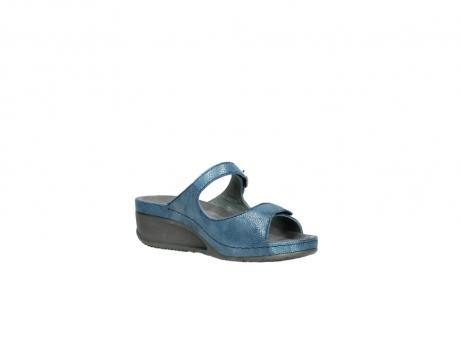 wolky slippers 0426 mundaka 681 oceaan kaviaarprint leer_16
