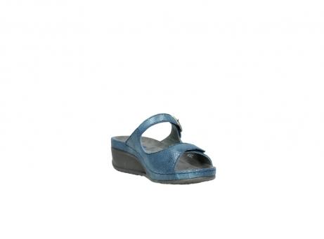 wolky slippers 0426 mundaka 681 oceaan kaviaarprint leer_17