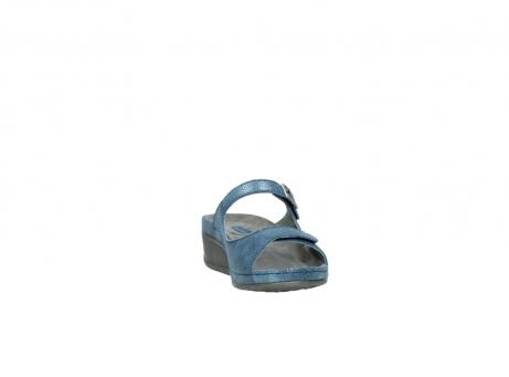 wolky slippers 0426 mundaka 681 oceaan kaviaarprint leer_18