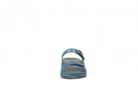 wolky slippers 0426 mundaka 681 oceaan kaviaarprint leer_19