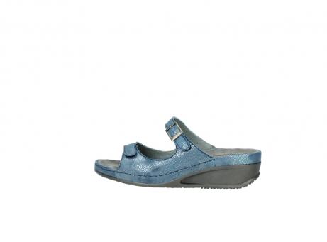wolky slippers 0426 mundaka 681 oceaan kaviaarprint leer_2