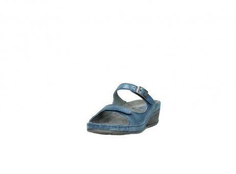 wolky slippers 0426 mundaka 681 oceaan kaviaarprint leer_21