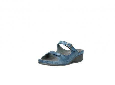 wolky slippers 0426 mundaka 681 oceaan kaviaarprint leer_22