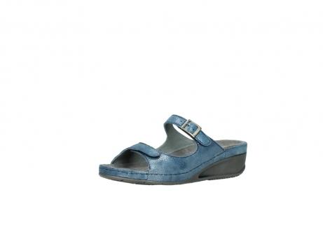 wolky slippers 0426 mundaka 681 oceaan kaviaarprint leer_23