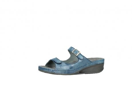 wolky slippers 0426 mundaka 681 oceaan kaviaarprint leer_24