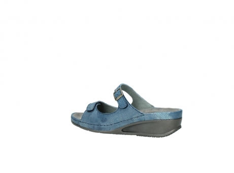 wolky slippers 0426 mundaka 681 oceaan kaviaarprint leer_3