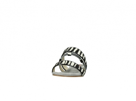 wolky slippers 04645 miami 50000 zebra print leather_20