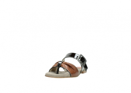wolky slippers 04646 palm beach 60430 cognac leather_21