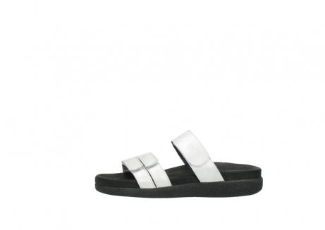 wolky slippers 0501 cirrus 919 parelwit metallic leer_1