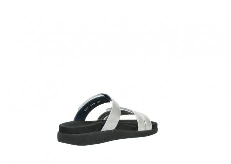 wolky slippers 0501 cirrus 919 parelwit metallic leer_10