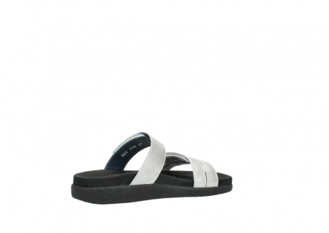 wolky slippers 0501 cirrus 919 parelwit metallic leer_11