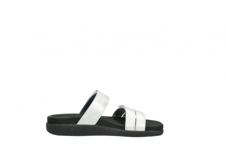 wolky slippers 0501 cirrus 919 parelwit metallic leer_13
