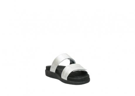 wolky slippers 0501 cirrus 919 parelwit metallic leer_17