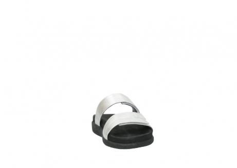 wolky slippers 0501 cirrus 919 parelwit metallic leer_18