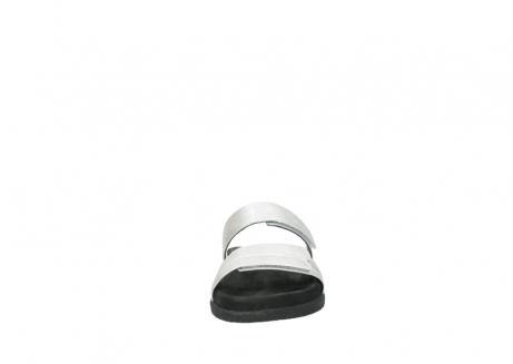 wolky slippers 0501 cirrus 919 parelwit metallic leer_19