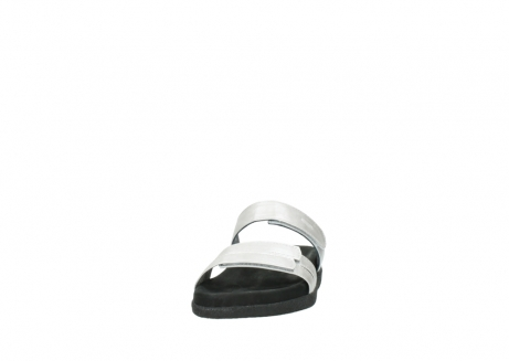wolky slippers 0501 cirrus 919 parelwit metallic leer_20