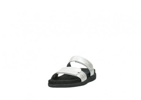 wolky slippers 0501 cirrus 919 parelwit metallic leer_21